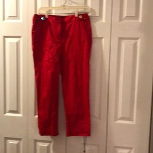🎉BOGO🎉petite red slacks great condition